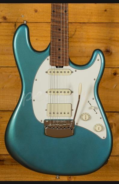 Music Man Cutlass HSS Vintage Turquoise Maple