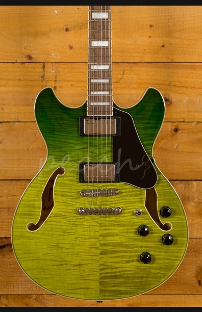Ibanez 2019 AS73FM-GVG Green Valley Gradation