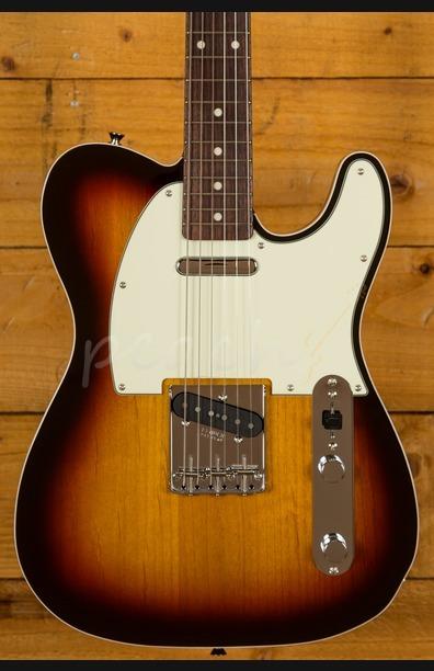 Fender Japan 62 Tele Custom 3 Tone Sunburst