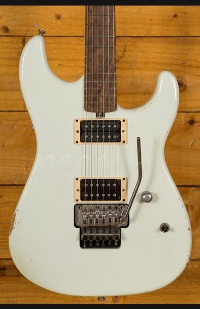 Friedman Cali Guitar Vintage White Pau Ferro HH