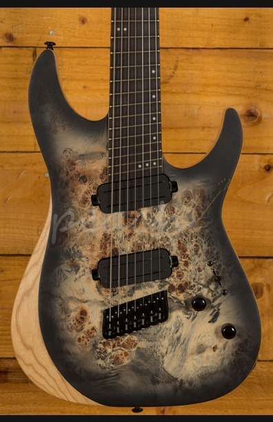 Schecter Reaper-7 Multi-Scale Charcoal Burst