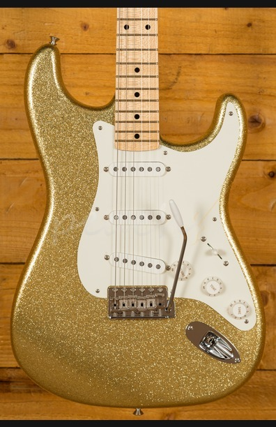 Fender Custom Shop 57 Strat NOS Maple Neck Gold Sparkle