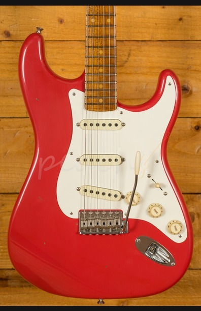 Fender Custom Shop 2018 NAMM LTD Roasted 57 Strat Aged Fiesta Red