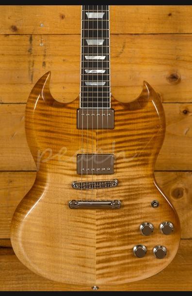 Gibson USA 2018 SG Standard HP - Mojave Fade - Used - Peach