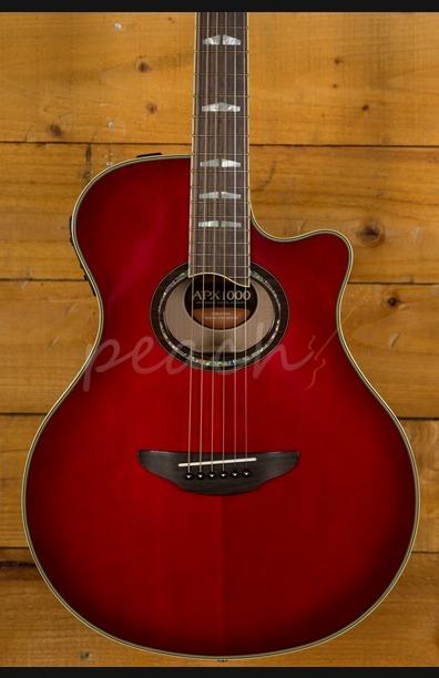 Yamaha APX1000 Electro Crimson Red Burst