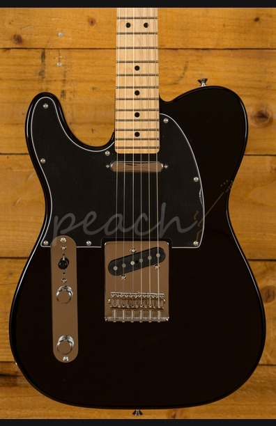 Fender Player Series Tele Left Handed Maple Neck Black