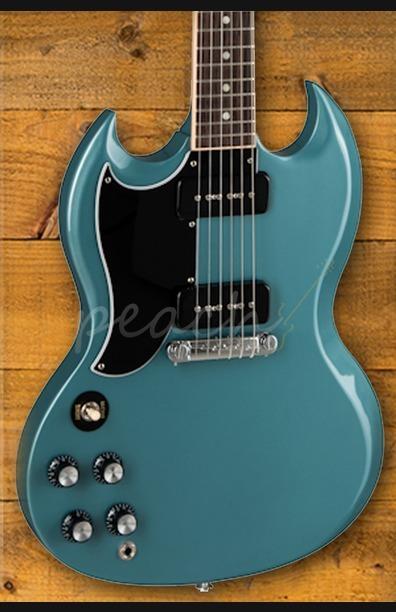 Gibson SG Special - Faded Pelham Blue Left Handed